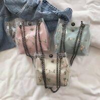 Vintage Clear Women PVC Shoulder Crossbody Bags Jelly Candy Beach Handbag
