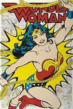 24x36 Wonder Woman Comics Poster shrink wrapped
