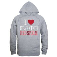 Gray St John/'s University SJU Red Storm NCAA Hoodie Sweatshirt S M L XL 2XL