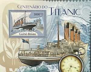 GUINEA TITANIC CENTENARY STAMPS MNH 2012 MNH LUXURY CRUISE SHIP OCEAN LINER BOAT