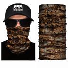 FACE MASK Camo Forest Tree Leaf Sun Shield Neck Gaiter Headband Bandana Du Rag