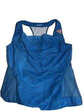 Adidas Adizero Women's Formotion Tennis Blue Top Shirt Climacool Size S