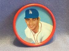 1963 Salada Tea Junket Baseball coin  Sandy Koufax  P  Dodgers  #4