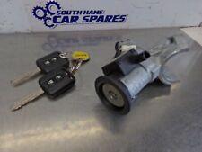 Nissan Micra Mk3 K12 03-07 Ignition Barrel Transponder Ring Lock & 2 Blade Keys