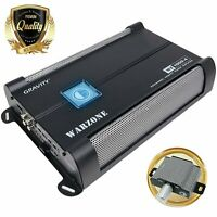 SoundXtreme ST-1250.1 MonoBlock Amplifier 1 Ohm Stable 1250W w//Remote Subwoofer Level Control