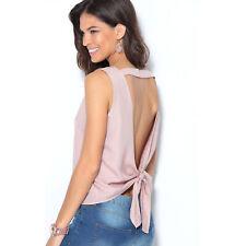 ae619547c Blusa sin mangas de mujer con lazada en la espalda mujer by VencaStyle -  001223