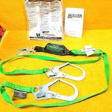 ***NEW*** MILLER by HONEYWELL 8798TR-Z7/6FTGN SOFSTOP TWO LEG 6FT SAFETY LANYARD