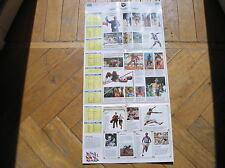 ATLETICA MONDIALI TRACK FIELD ROMA 1987 PROGRAMMA PROGRAMME SORRISI E CANZONI TV