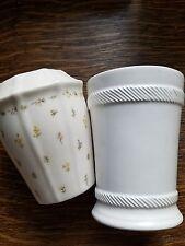 Bathroom Accessories- Toothbrush Holder & Glass