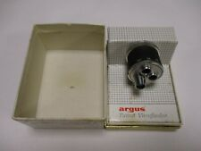 Argus Turret Viewfinder No. 654 with box.