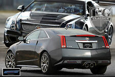 2011 2012 2013 CADILLAC CADY CTS-V COUPE REAR MESH BUMPER ACCENT KIT E&G