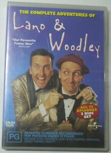 The Complete Adventures Of Lano & Woodley  - rare htf 2x R4 DVD - posted
