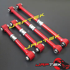 Adjustable Rear Lateral Link & Trailing Control Arm Set For Toyota Corolla AE86
