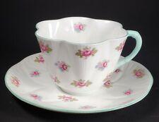 "SHELLEY England Bone China ""ROSEBUD"" #13426 - DAINTY Cup & Saucer"