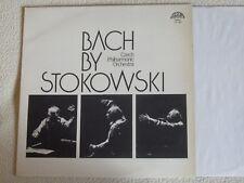 JOHANN SEBASTIAN BACH by Leopold Stokowski LP Supraphon 1976 Czech Orchestra