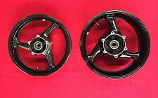 BRAND NEW STOCK OEM BLACK WHEELS FOR 2008-2012 SUZUKI HAYABUSA - NON ABS