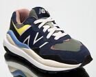 New Balance 57/40 Women's Navy Green Lifestyle Lace Up Sneakers Casual Shoes