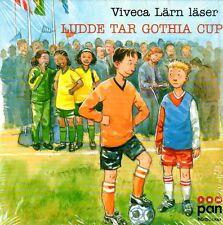 3 CD Hörbuch Viveca Lärn SCHWEDISCH Ludde Tar Gothia Cup, svenska, NEU