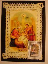 (BU928) JESUS CHILD (KIND) 2004 LIECHTENSTEIN maximum maxi card postcard