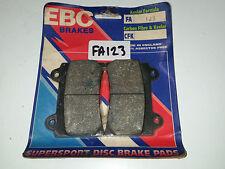 Brake Pads Standard EBC Front FA123 Yamaha FJ 1200 3cw