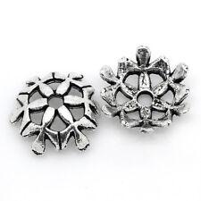 100 Perles Coupelles 10x10mm B25891