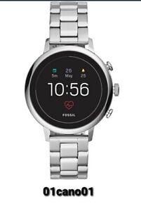 Fossil DW7F1. 4 Generation Smartwatch, Edelstahl, silber -Neu OVP