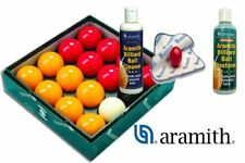 Aramith Pool Balls and Pool Cleaning Kit
