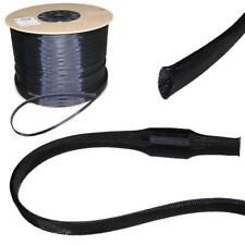5m 30mm (20-40mm) Gewebeschlauch Geflechtschlauch Kabelschutz Polyester