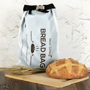 Bread Bag by New Living, BPA Free Recycled Polyester, UK Seller, Eco Product