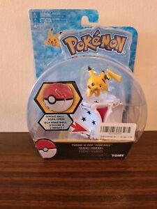 Pokemon tomy throw n pop poke ball froakie  figure pop open play battle toy new