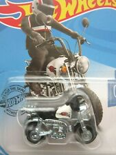 2020 HOT WHEELS HONDA MONKEY Z50 MINI BIKE WHITE TANK motorcycle dax gorilla