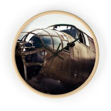 Aviator Rusty Plane Wall clock