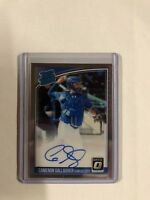 Cameron Gallagher 2018 Donruss Optic Rated Rookie Auto