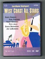 WEST COAST ALL STARS - JAZZ OPEN STUTTGART -  TDK 2002 - DVD - TRÈS BON ÉTAT