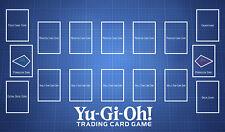 C1564 Free Mat Bag Custom Playmat YUGIOH Card Game Play Mat Pendulum Zones