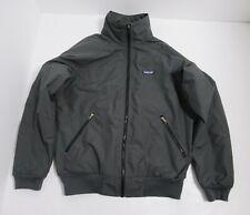 Patagonia Men's 90's Baggie Fleece Lined Jacket Color Gray Size Medium Full Zip