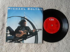 """MICHAEL BOLTON THAT'S WHAT LOVE IS ALL ABOUT CBS RECORDS 7"""" VINYL SINGLE in P/S"""