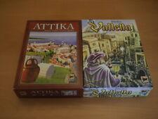 2 Spiele von Hans im Glück: Attika und Valletta