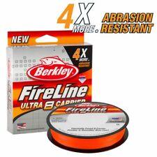 BERKLEY Fireline ULTRA 8 Carrier Fishing Braid Line 6Lb 300m Blaze Orange