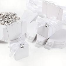 50 x Hochzeit Gastgeschenk Bonboniere Geschenkbox Kartonage Stuhl Tischkarten