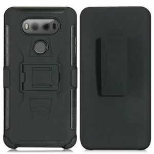 Heavy Duty Hard Case for LG G8 G6 G5 G3 case  FOR LG With Belt Clip Holster