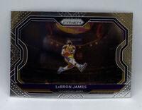 2020-21 Panini Prizm Base Lebron James Los Angeles Lakers Nice Center