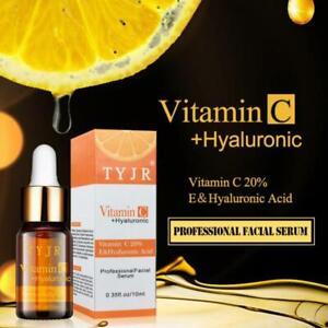 Suero De Vitamina C + Acido Hialuronico PARA La Cara Tratamiento Facial Completo