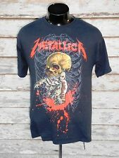"METALLICA  MENS T SHIRT M PUSHEAD ""ALIEN BIRTH""  GRAPHIC BLACK COTTON"