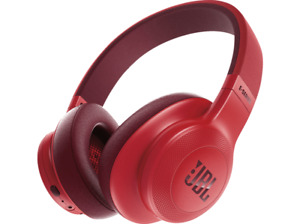 Auriculares inalámbricos - JBL E55BT, Bluetooth, Micrófono, Rojo