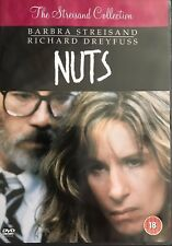Barabara Streisand Richard Dreyfuss NUTS ~ 1987 Classic Courtroom Drama   UK DVD