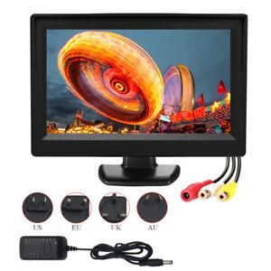 HD 800*480 CCTV Display Screen 5 inch LCD Monitor AV /RCA Input PAL /NTSC 16:9