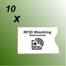 General Motors RFID Blocking Schutzhülle für EC / Kreditkarten 3er Set (77186)