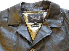 "WILSONS LEATHER ""PELLE STUDIO"" JACKET Black Leather ,XL w/ Thinsulate Liner (B6)"