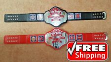 NWA TELEVISION HEAVYWEIGHT Championship Belt Title Gold Plated 4mm Adult Size